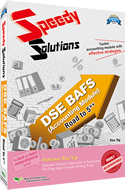 Speedy Solutions - DSE BAFS (Accounting Module) Road to 5** 封面